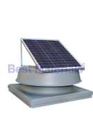Solar Powered Attic Fan, Curb Base, 20W 1275 Cfm
