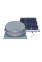 Solar Powered Attic Fan, Curb Base, 50W 1900 CFM