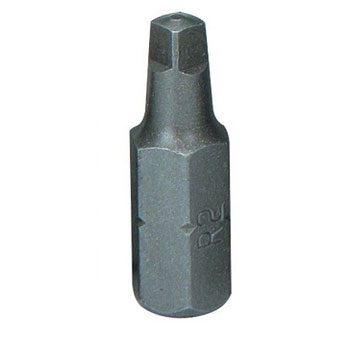 #1 Square Drive Bit, 1 inch Long - #1 SQUARE DRIVE BIT, 1 INCH LONG, 1/4 HEX DRIVE, HARDENDED STEEL, RECESSED DRIVER BIT. GUARANTEED QUALITY AND PERFORMANCE. PRICE/EACH.
