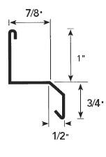 Fry Reglet St Stucco Flashing Reglet 24 Ga Galv 250 Ft