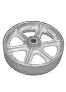 Roofmaster Steel Wheel (1), 8 x 2 inch (for Mop Carts etc)