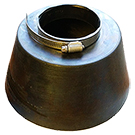 Conduit Pipe Flashing / Storm Collar, 1.5 inch (1.85 ID)