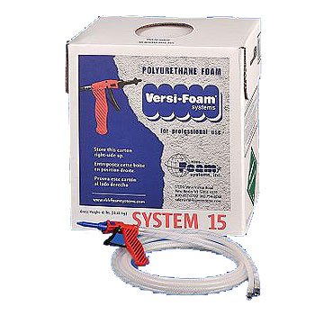 Versi Foam System 15 Spray Foam Kit Class 1 180 Board