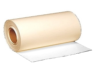 PVC 60 mil, WHITE/TAN, Non-Reinf. Flashing, 12 in. x 50 ft. - PVC 60 mil WHITE/TAN Non-Reinforced Flashing Membrane. 12 inch Wide x 50 Foot Roll. White on One Side, Tan on the Other. Price/Roll. (aka #327840)