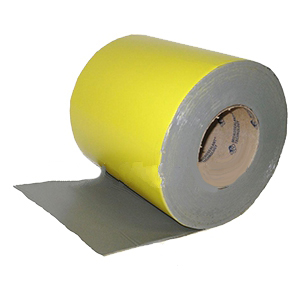 EternaBond Yellow Safety Zone Marking Tape, 6 in. x 50 ft. - EternaBond Yellow Safety Zone Tape. Peel/Stick dhesion. Commonly used to mark roof perimeters, dangerous roof areas, and signify roof walking paths. 6-inch wide x 50 Foot Roll. Price/Roll. (4 rolls/case; order full cases for added discounts)