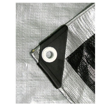 Heavy Duty Uv Grade Silver Black Tarp