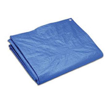 10 X 20 Blue Tarps, 2.3 Oz. (Case of 8) - 10