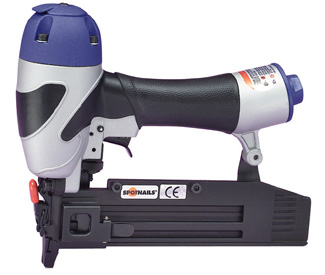 Spotnails TB1840,1 to 1-9/16 inch 18 Ga Brad Air Nailer - Spotnails TB1840 Air Nailer, for 1 to 1-9/16 inch 18 Gauge Brads. Includes tool, product documentation. Price/Each. (shipping leadtime 1-3 business days, UPS Ground Shipping; photo ID on delivery required)