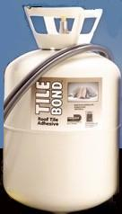 Dow 157957 Tile Bond Roof Tile Adhesive, Tank Only