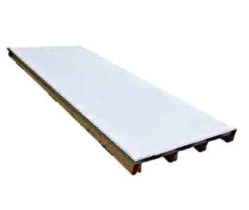 TPO Clad Galv. Steel Sheets, 4x10 ft, Specify COLOR - TPO Clad Galvanized Steel Sheet, 24 Gauge, G90 Hot Galvanized. Coating with Heat Weldable 0.025 inch Non-reinforced Detail Grade Membrane. 4x10 foot Sheets. Price/Sheet. (special order; specify COLOR before adding to cart)