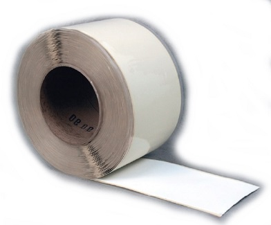 TPO Peel/Stick Coverstrip Tape, WHITE, 6 in. X 100 ft. - TPO Peel/Stick Coverstrip Seam Cover Tape, WHITE, Cured, 6 inch wide x 100 foot roll. Price/Roll. (special order, leadtime 4-7 business days)