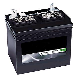 Generator Battery, 12V, U1L-6, CCA 330 - 12V U1L-6 Heavy Duty (CCA 330) Generator Battery / Garden Tractor Battery. Fits 6-12 kw Electric Start Generators. Price/Each. INCLUDES $10 CORE CHARGE.