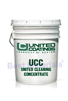 United Cleaning Concentrate, Roof Coating Precleaner (5G)