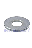 USS, Flat Galvanized Steel Washer 1/4 Inch (100)