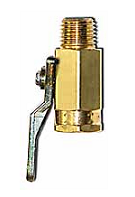 Ball Valve, 1/4 in. MPT Outlet x 1/4 in. FPT Inlet