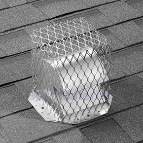 Roof Vent Guard / Animal Guard Screen, 7 x 7 x 9, Stainless Steel - HY-C Company #RVG77 Roof Vent Guard / Animal Control Screen, 18 Gauge Stainless Steel 7 x 7 inch base x 9 inch High (inside sizes). Price/Each. (shipping lead time 2-5 business days)
