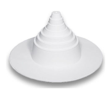 Gaf Tpo Vent Boot White 25 4 152 Mm Diameter Box 6