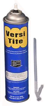 Versi-Tite Expanding Foam Sealant, 24 oz. Straw Cans, Case/12