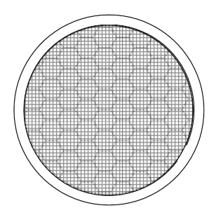 2 in. Round Fire Stopping Vents, MESH Faced (1) - Vulcan 2 inch Round Fire Stopping Eave Vent with MESH FACE. Aluminum Body with Fire-Stopping Matrix. Price/Each (1). (25/case. Order full cases for discount; shipping leadtime 2-3 business days)