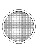 2 in. Round Fire Stopping Vents, MESH Faced (1)