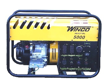 Winco 6000 Watt Generator, Gasoline Powered - WINCO MODEL WC60000H, INDUSTRIAL GRADE 6000 WATT GENERATOR (5500W Continuous), HONDA 11 HP GASOLINE ENGINE. PRICE/EACH. (no air shipments; photo ID AND signature required for delivery)
