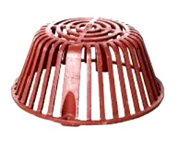 Wade 3000 Drain Dome, 11-1/2 inch, Cast Iron - Wade 3000 Replacement Cast Iron Drain Dome, 11-1/2 inch OD x 5 inch High. Used on Wade 3000 Series Roof Drains. Price/Each. (shipping leadtime 1-2 business days)