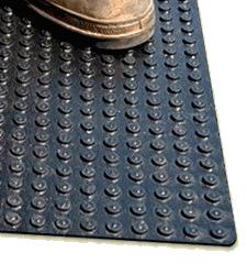 Roof Walkway Pad Black Symar Rubber 30x30 X 5 16 Pallet 50