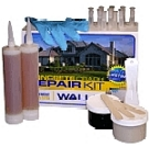 Concrete Wall Crack Urethane Injection Repair Kit, 10-Foot Kit
