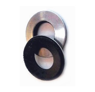 "0.400"" x 1-1/2 in. OD Galv. EPDM Bonded Sealing Washer, 1000 - 0.400"" ID x 1-1/2 Inch OD Galvanized Steel Sealing Washer. 20 Gauge Galvanized Steel with Bonded EPDM Rubber Seal. Seals 9 mm to 3/8 fasteners. 1000/Box. Price/Box."