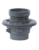 Watts FD-100-DD Floor Drain, Hub Funnel Top Strainer