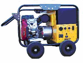 Winco 12000 Watt Generator, Gasoline Powered (Az-Ca) - WINCO WC12000HE-AZ 12000 WATT GENERATOR, NEW AZ - CA DESIGN. 20HP HONDA MOTOR, 15G GAS TANK, 4-WHEEL KIT, FLAT-FREE TIRES, CS6369 50A TWIST TYPE LOCKING PLUG. (Battery additional). SHIPPING WEIGHT 440 LBS, TRUCK SHIPMENT ONLY.