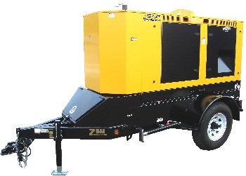 Winco Rp55 45Kw Towable Generator, Diesel Powered - WINCO RP55 45KW TOWABLE GENERATOR, IVECO DIESEL POWERED. FULLY FEATURED. PRICE/EACH. (photo ID AND signature required for delivery)