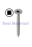 #6 X 1-5/8 in. Life Coat Deck Screw, Square Drive (100)