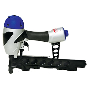Spotnail Medium Crown Air Stapler (Bostitch type) - SPOTNAILS XS76-8650 16 GAUGE MEDIUM CROWN AIR STAPLER KIT (Bostitch/Paslode type). Includes tool, hard case, oil, allen wrenches, safety glasses, product documentation. Price/Each.