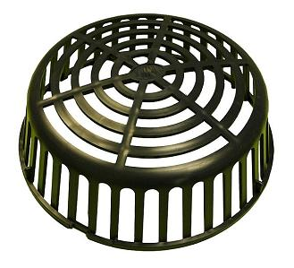 12-1/2 in. Zurn Z100 Poly Replacement Dome / Strainer - 12.5 INCH O.D. ZURN Z100P REPLACEMENT POLY DRAIN DOME / STRAINER. FITS Z100 15 INCH DRAINS. PRICE/EACH.