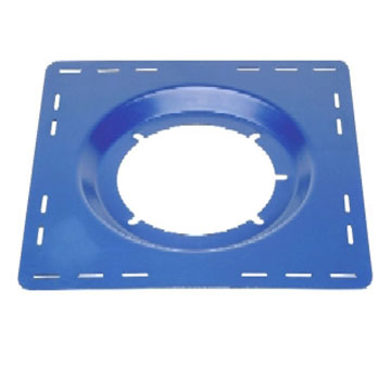 Zurn Z100 Top-Set Deck Plate - ZURN #66372 TOP-SET DECK PLATE FOR Z100 15 in. DRAIN. PRICE/EACH.