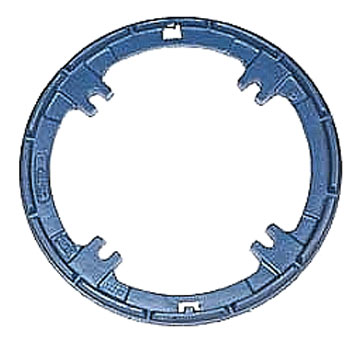 Zurn Z121 Clamp Collar / Drain Ring - ZURN #56588 Clamp Collar / Drain Ring, Cast Iron, 4-bolt, 11.25 OD. Fits Z121 12 inch Drains. Price/Each.