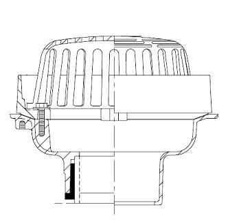 Zurn Z121 Roof Drain Cast Iron Dome 2 Inch Dam Specify