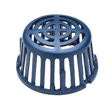 Zurn Z125 8 inch Cast Iron Replacement Drain Dome - Zurn #56586 Z125 8 inch Cast Iron Replacement Drain Dome (acutual size is 7-1/2 OD x 4-3/8 High). Price/Each.
