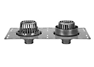 Zurn Z165 8 3 4 Combo Roof And Overflow Drains Specify Outlet