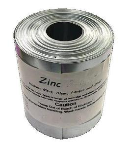 14 inch x 17 ft. Zinc, Soft 0.024 Zinc Metal Roof Flashing, 18 lb - 14 inch X 17 ft. Roll Zinc, 0.024 thick Soft Zinc Metal Roof Flashing. 18 lbs/Roll. Price/Roll. (Shipping leadtime 1-3 business days)