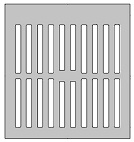 Zurn 50352-1, 11-3/8 Square Drain Grate for Z761