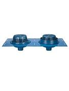 Zurn 15 Inch Combo Roof Drain Overlfow Cast Iron No Hub