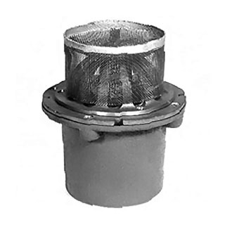 Zurn Z352 / Z181 Replacement Dome Screen (SPECIFY MATERIAL) - Zurn Drain Dome Screen, fits Z352 Planter Drain or Z181 Cornice Drain. Price/Each. (specify MATERIAL before adding to cart; shipping leadtime 7-10 business days)
