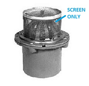 Zurn Z352 Z181 Replacement Dome Screen Specify Material