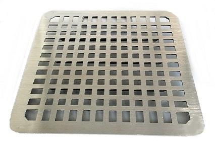 Zurn Pn1900 Old Style Full Grate 9 5 In Square Drain Grate