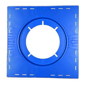 Zurn Z125 Top-Set Deck Plate - ZURN #66373 Top-set deck plate for Z125 8 inch drain. Price/Each.