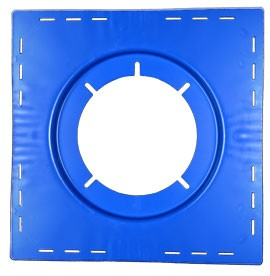 Zurn Z121 Top-Set Deck Plate (-DP) - ZURN #65991 (-DP) Top-Set Deck Plate. Fits Z121 12-inch roof drain. Price/Each. (shipping leadtime 2-5 business days)