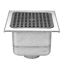Zurn Z1751 Y Sanitary Floor Drain, 12x12 Inch, W/Bucket, SPECIFY