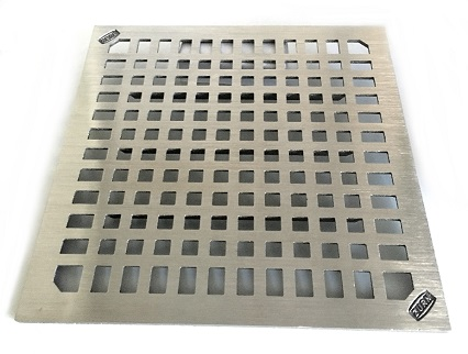Zurn Zn1900 Full Grate 12 In Square Drain Grate 3 8 Thick